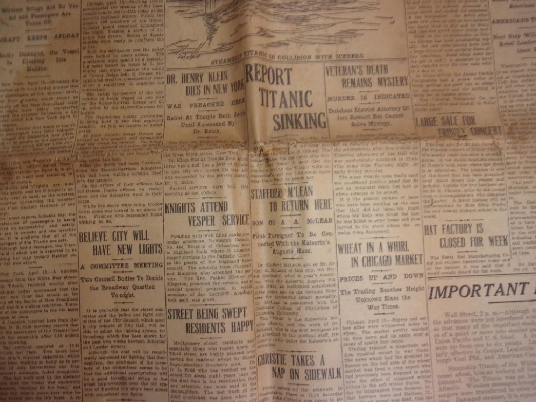 1912 Newburgh New York Journal newspaper - 4