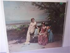early 20th century lithograph