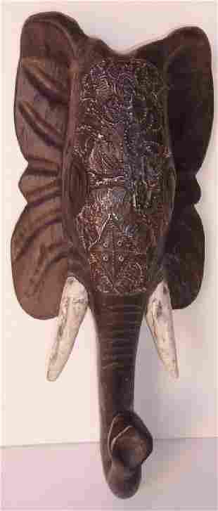 AshantiGhana handmade wall hanging elephant