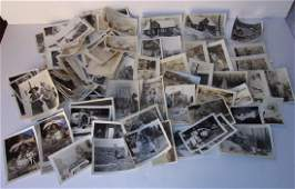 Large collection of 100 vintage photos