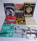 9 piece military lot