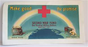 WWI Red cross poster