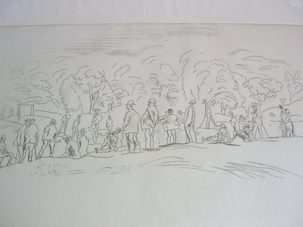 Pascin estate stamped print