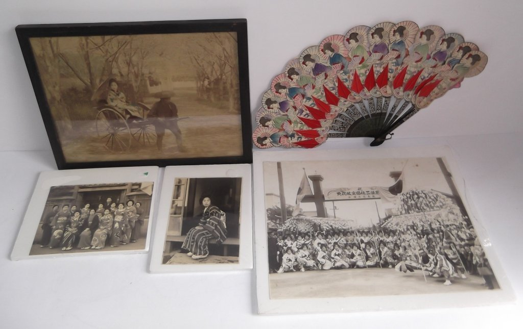 5 piece early Japanese lot