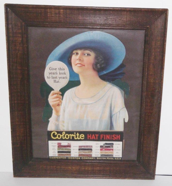 Colorite Hat Finish advertisement