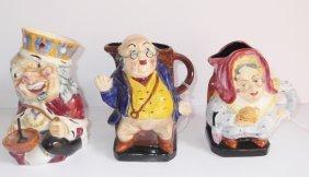 3 Toby Pitcher Mugs