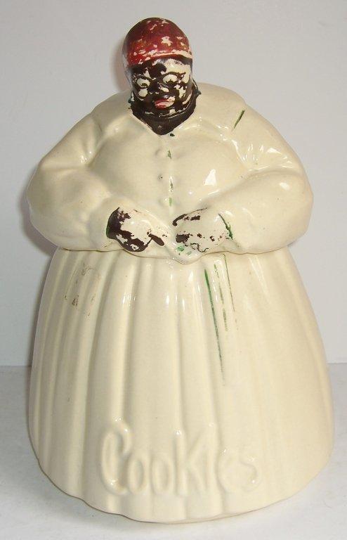 1940's McCoy Ceramic Mammy Cookie Jar