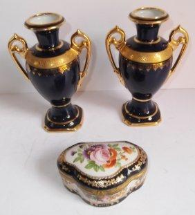3 Piece Porcelain Lot