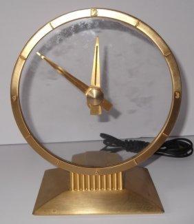 Jefferson Golden Hour Electric Art Deco Clock