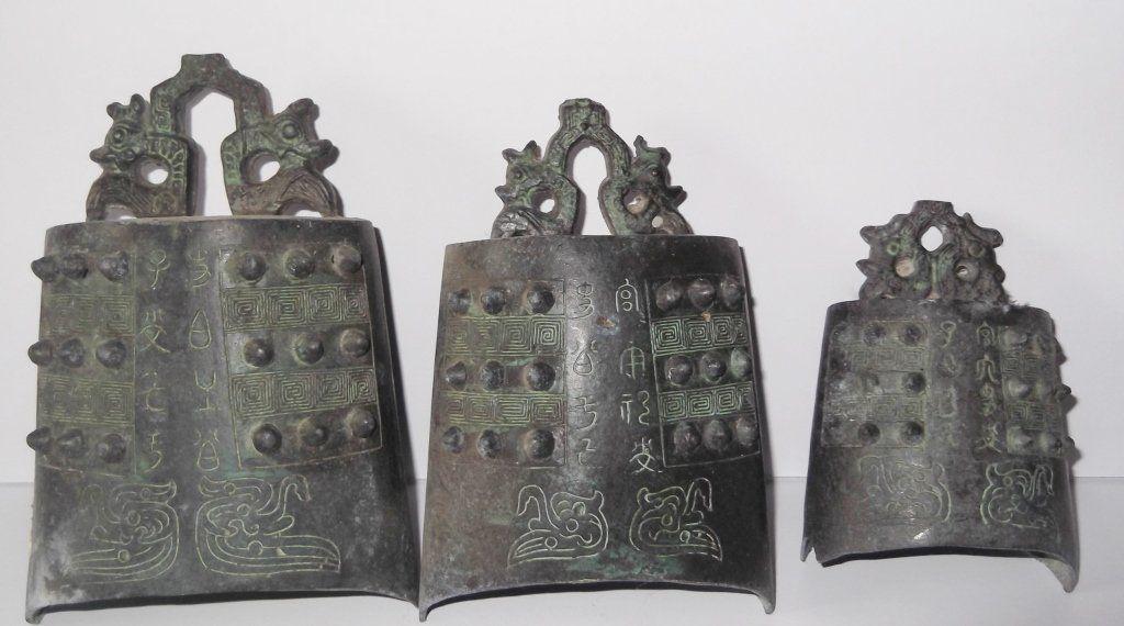 bronze graduating size Japanese temple bells