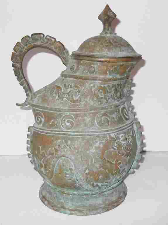 Bronze Oriental pot