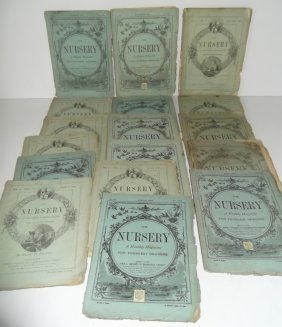 17 The Nursery Magazines 1800's