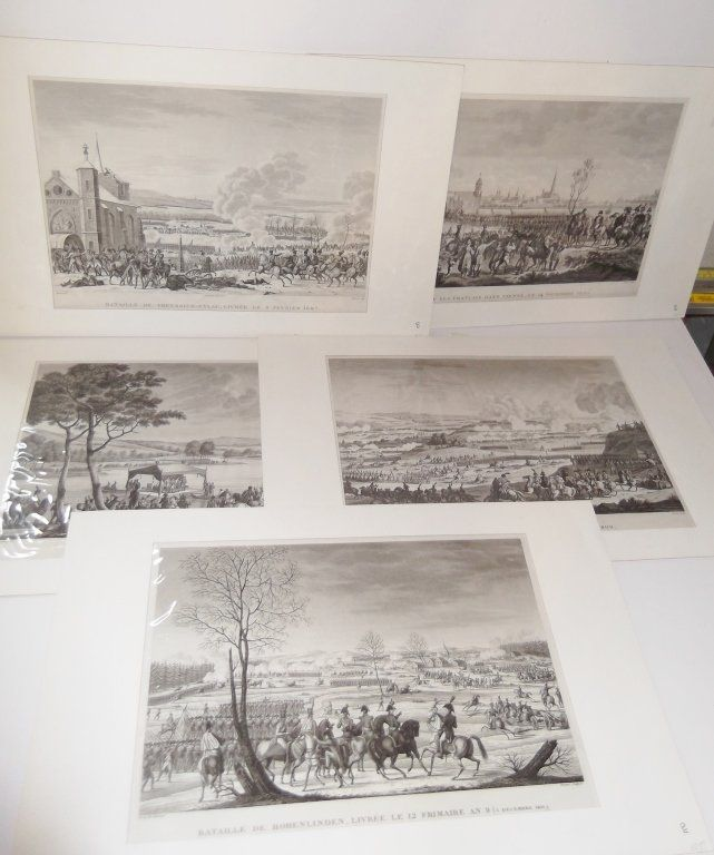 5 Napoleon engravings