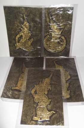 5 Thai Deity Artwork