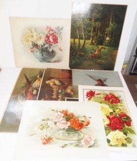 10 Chromolithographs & Prints