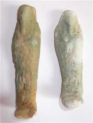 2 Mummy figures