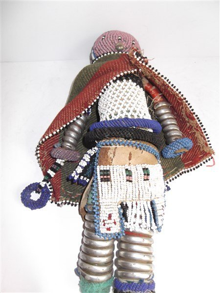 1970's Central African beaded doll - 2