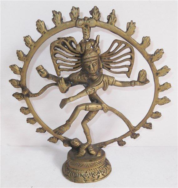 Toscano Dancing Shiva Goddess of Cosmic Energy Desktop