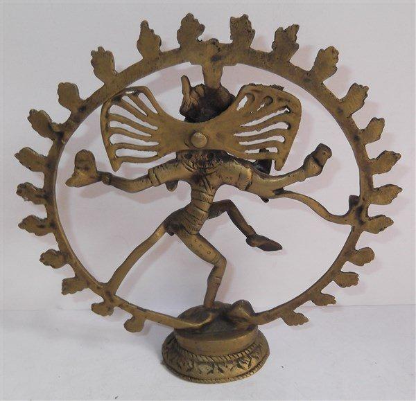 Toscano Dancing Shiva Goddess of Cosmic Energy Desktop - 3