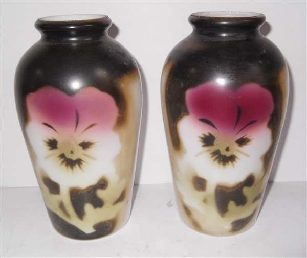 Pair of late 19th c. vases
