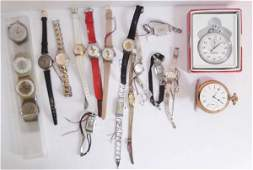 Collection of assorted watches