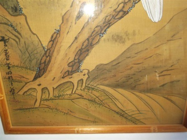 Large Japanese watercolor - 3