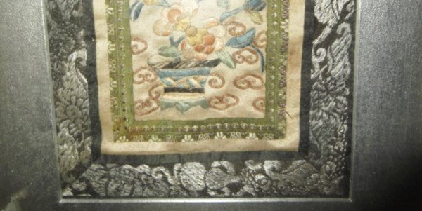 Chinese framed embroidery - 3