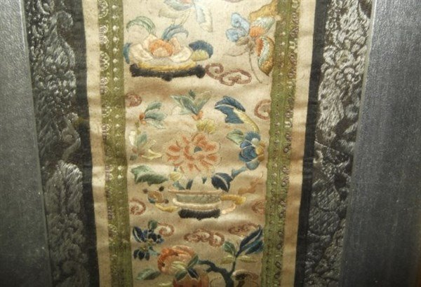 Chinese framed embroidery - 4