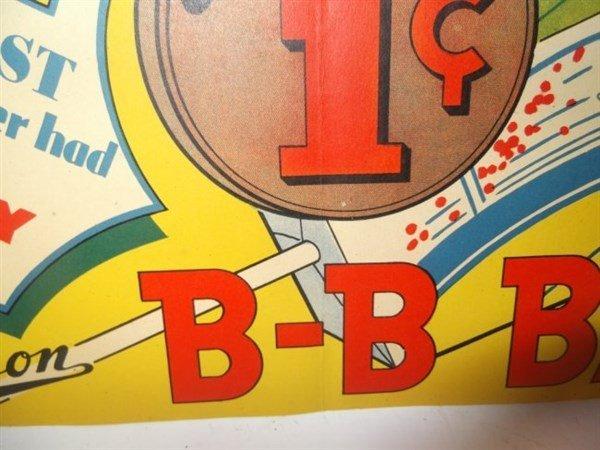 3 B-B Bats candy advertisements - 4