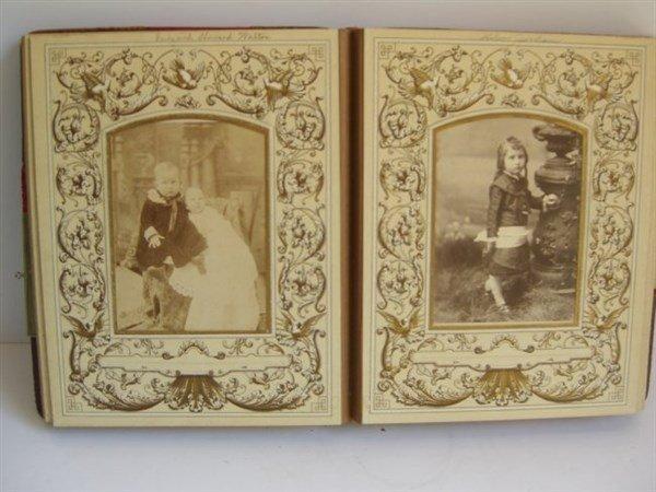 Early photo album