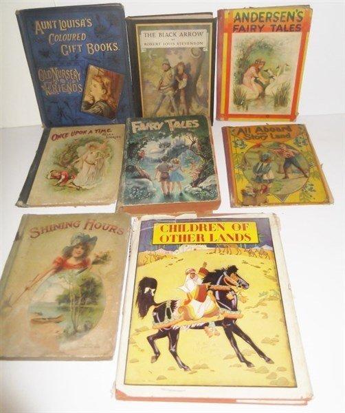 8 children's books