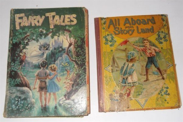 8 children's books - 2
