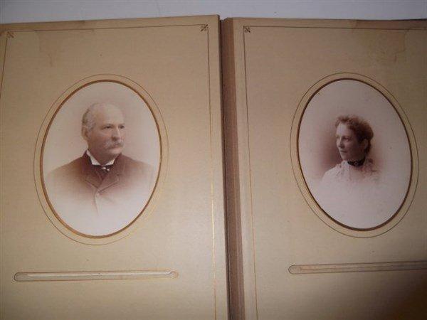 Victorian photo album - 2