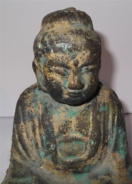 Pair of Buddha bookends - 2