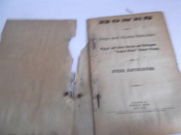 22 1800's bones & tambo books - 4