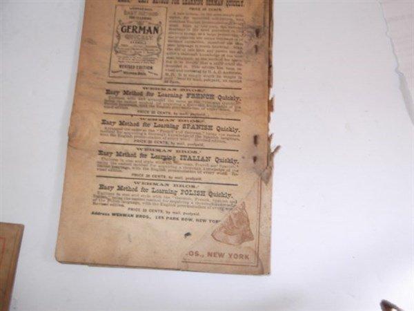 22 1800's bones & tambo books - 5