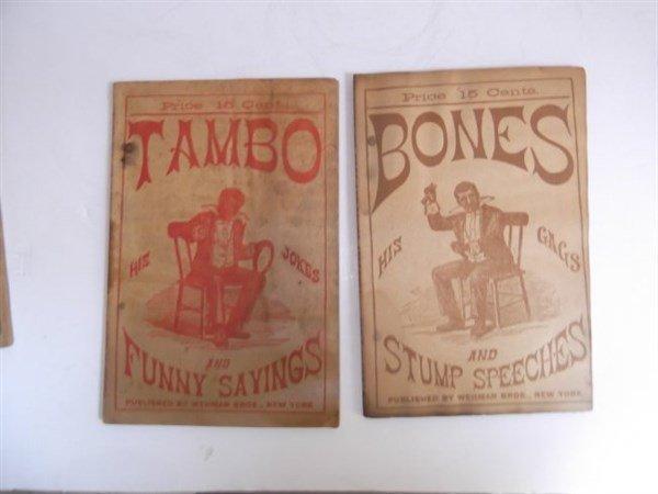 22 1800's bones & tambo books - 6