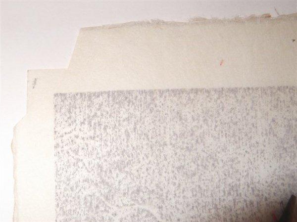 3 Japanese woodblock prints by Sadanobu Hasegawa - 3