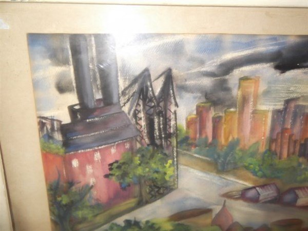 Watercolor unsigned - 2