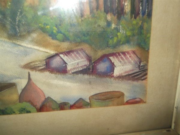 Watercolor unsigned - 3