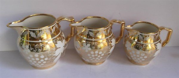 7 piece gilded lot - 2