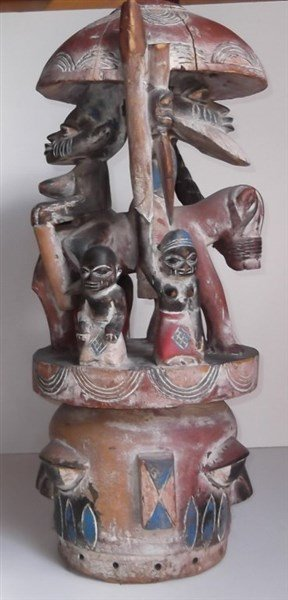 African statue - 3