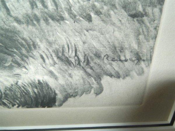 Pastoral scene etching - 2