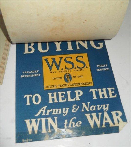 7 piece WWI paper advertisements - 8
