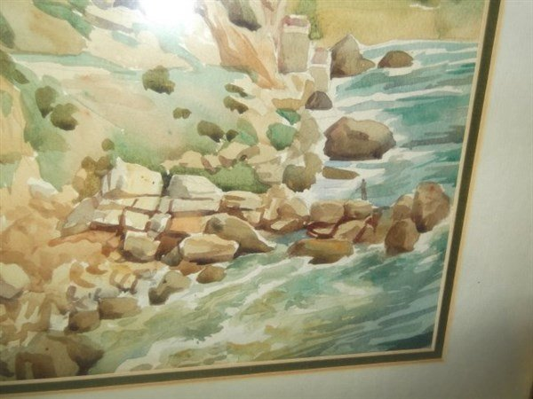 Watercolor signed Ciotti - 3