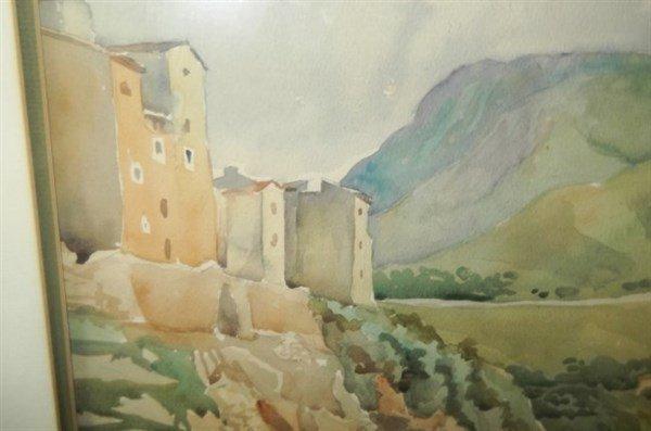 Watercolor signed Ciotti - 4