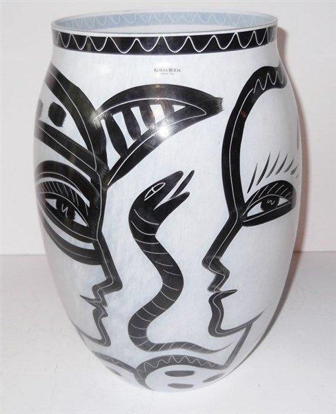 Kosta Boda Caramba Vase
