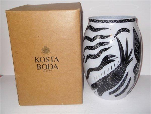 Kosta Boda Caramba Vase - 3