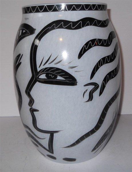 Kosta Boda Caramba Vase - 5
