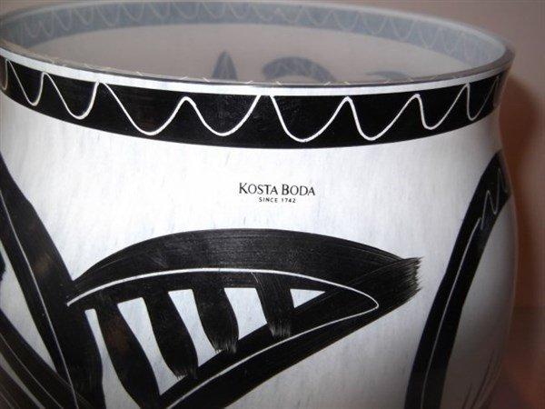 Kosta Boda Caramba Vase - 6
